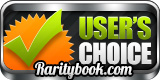 User's choice Award on RarityBook.com
