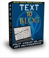 Text To Blog - Wordpress Autoposting Plugin