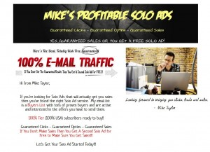 SOLO AD - Get 100+ Clicks/20+ Optins Guaranteed - (SALES GUARANTEED)